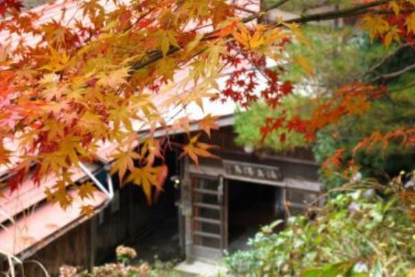 渡合温泉 玄関