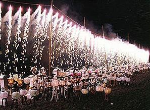 熊野大花火 開始