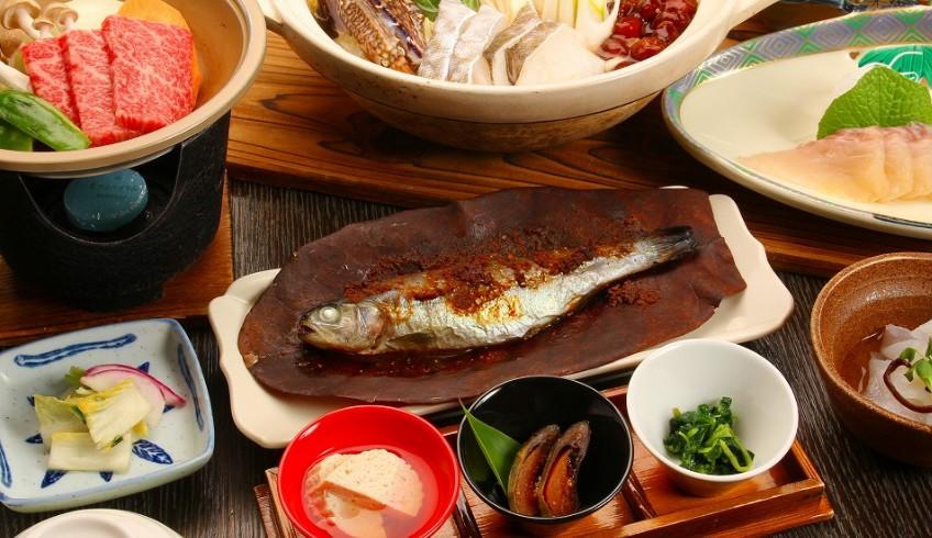 宝山荘 料理