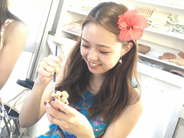 沖縄シーサー作り体験