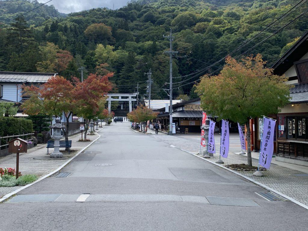 諏訪大社-下社春宮