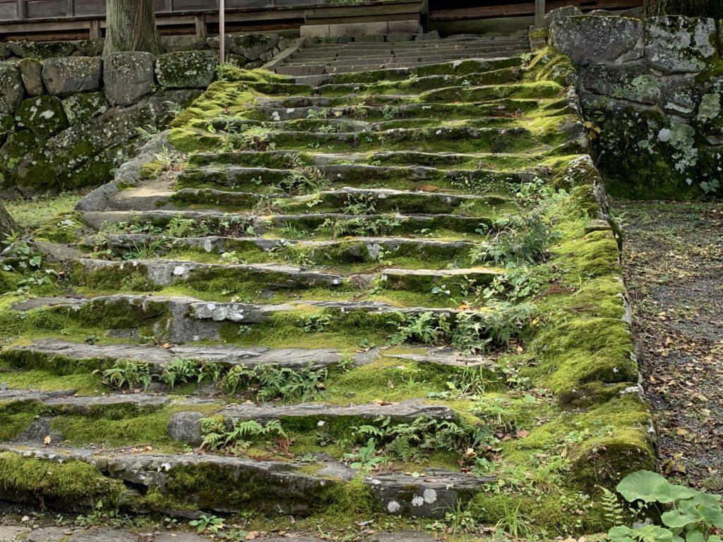 昔の階段?