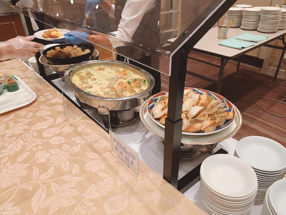 ▼朝食ビュッフェの和惣菜