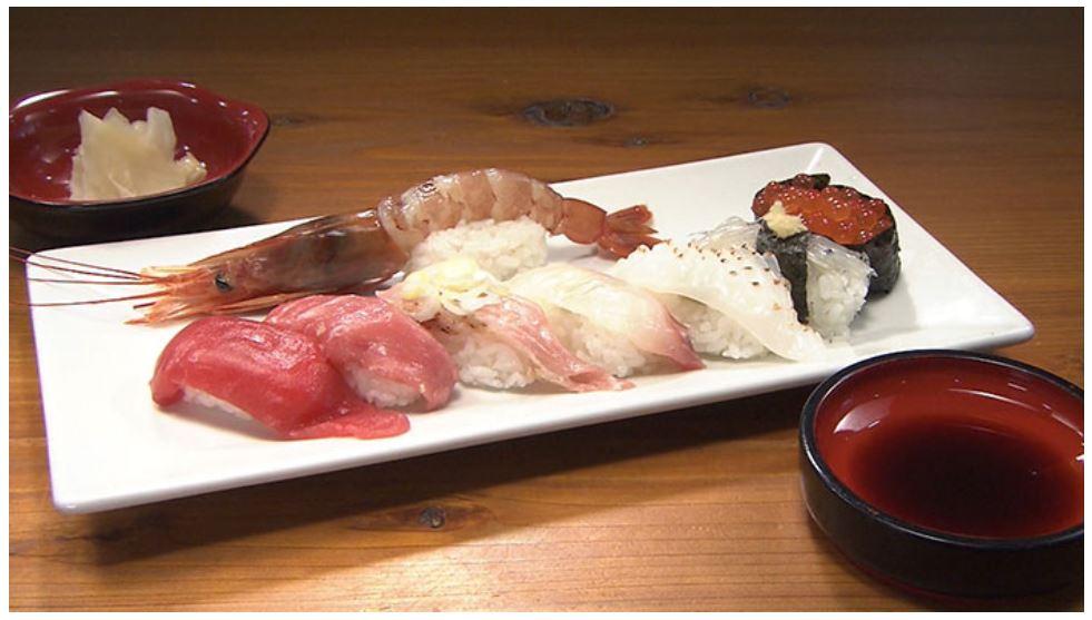 日村さんが食べた、きまぐれ寿司 出典:TBS公式HPより