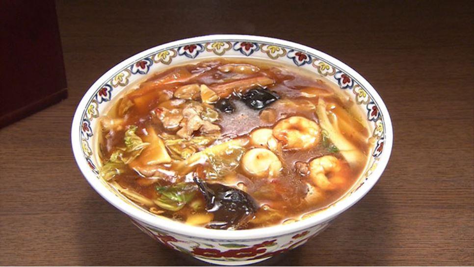 バナナマンの日村さんが食べた広東麺 出典:TBS公式HP