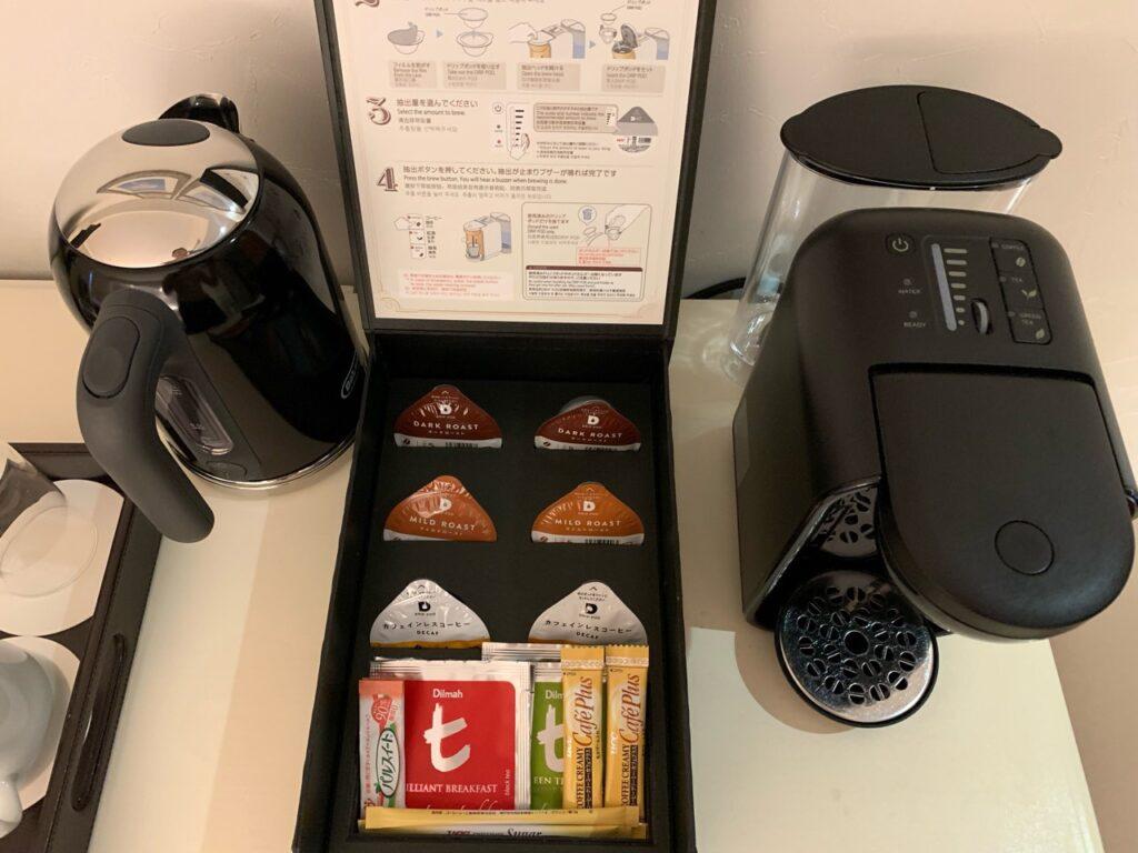 コーヒー、お茶
